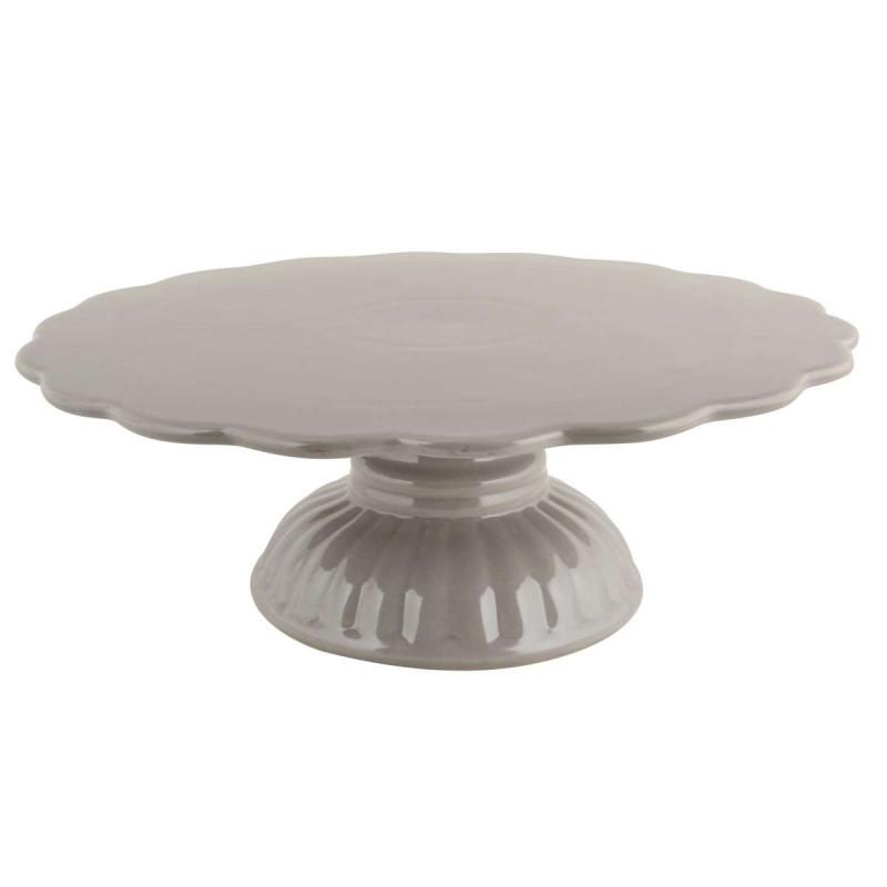 IB Laursen Tortenplatte Mynte French Grey grau
