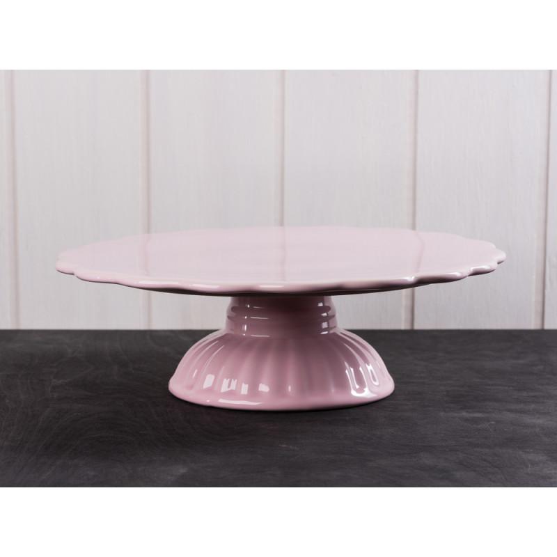 IB Laursen Tortenplatte pastell rosa Mynte Keramik Kollektion English Rose