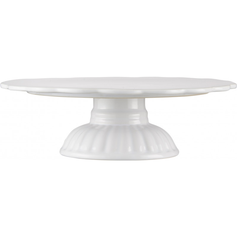 Ib laursen tortenplatte mynte pure white wei e kuchenplatte aus der mynte keramik - Kuchenplatte wand ...