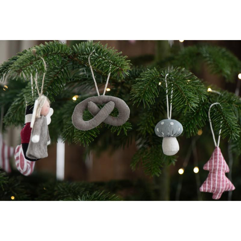 IB Laursen Weihnachtsdeko Hänger Tannenbaum aus Baumwolle Baumschmuck
