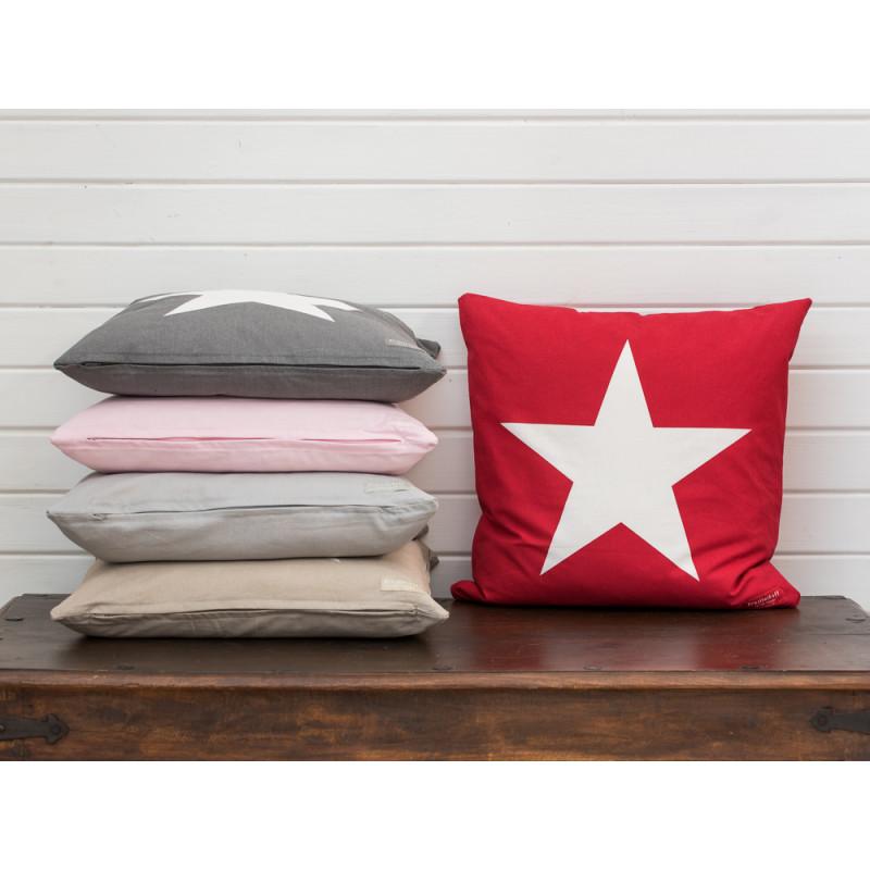 krasilnikoff kissenh lle big star rot wohnhaus welten. Black Bedroom Furniture Sets. Home Design Ideas
