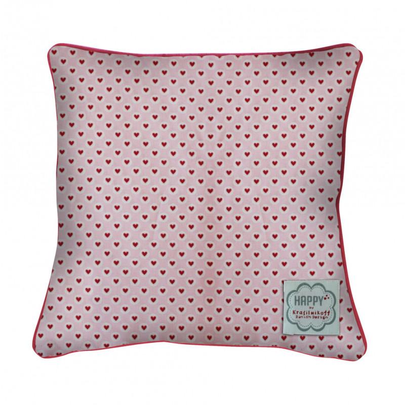 krasilnikoff kissen herzen rosa rot wohnhaus welten. Black Bedroom Furniture Sets. Home Design Ideas