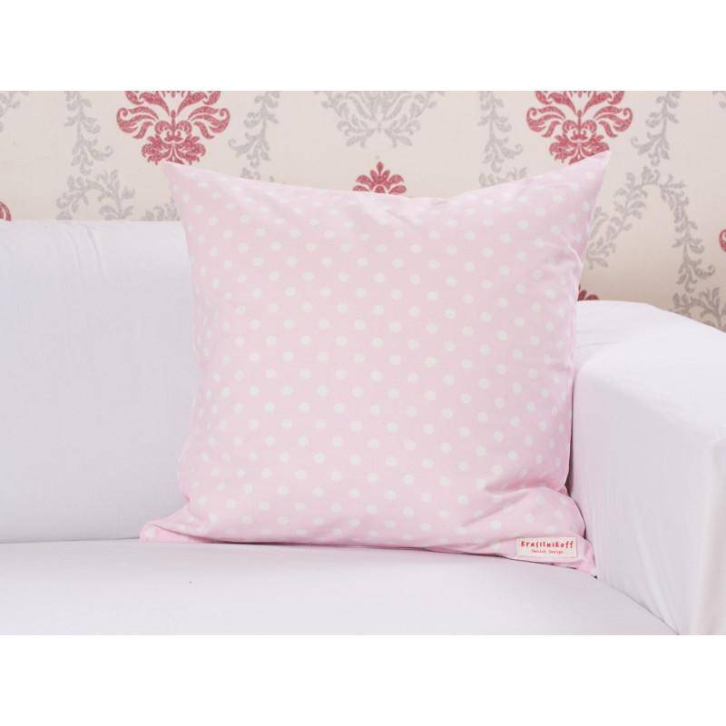 krasilnikoff kissen punkte rosa wohnhaus welten. Black Bedroom Furniture Sets. Home Design Ideas