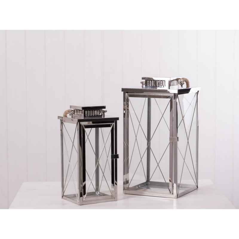 edelstahl laterne amrum hier online bestellen. Black Bedroom Furniture Sets. Home Design Ideas