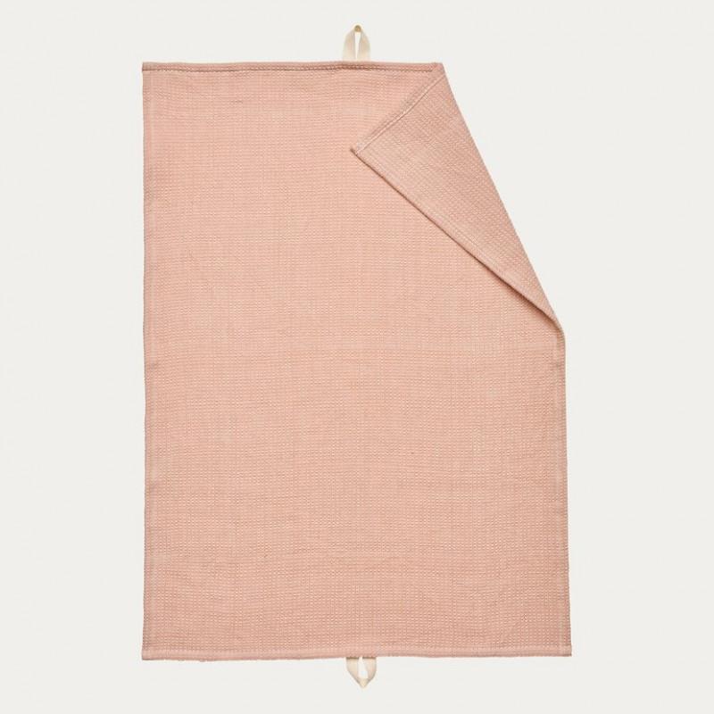 Linum Geschirrtuch Agnes Alt Rosa Baumwolle 50x70 Geschirrhandtuch Linum Design Nr 13agn05700d70