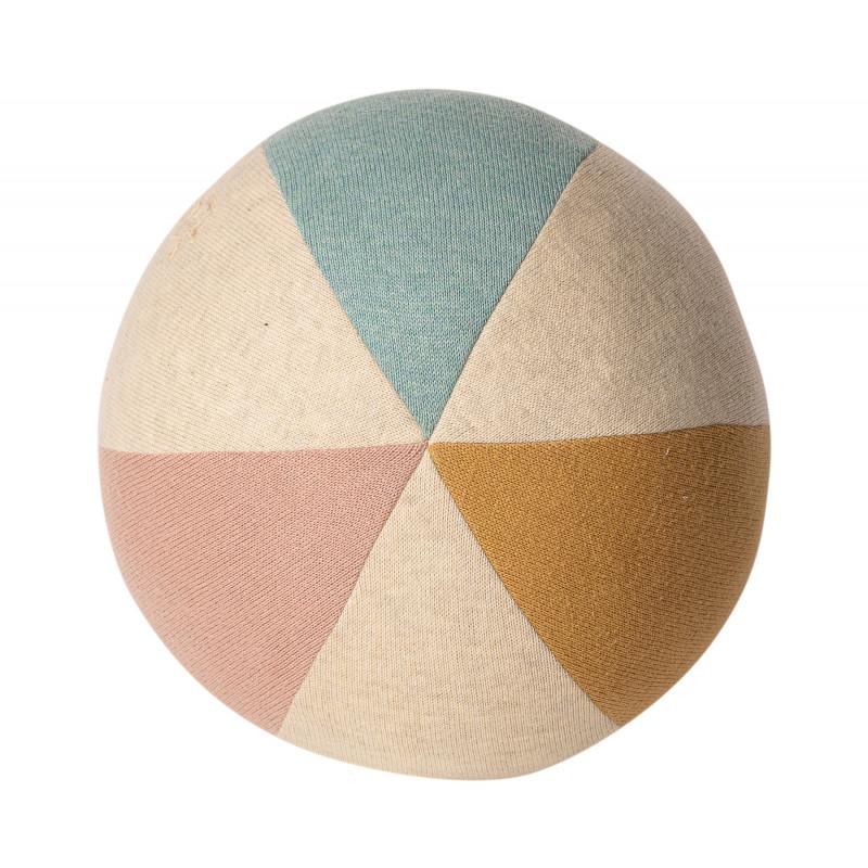 Maileg Ball Hellblau Natur Rose aus Öko Tex zertifizierter Baumwolle Spielzeug