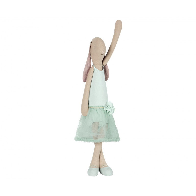 Maileg Bunny Ballerina mint Mega Hase grün 66 cm hoch