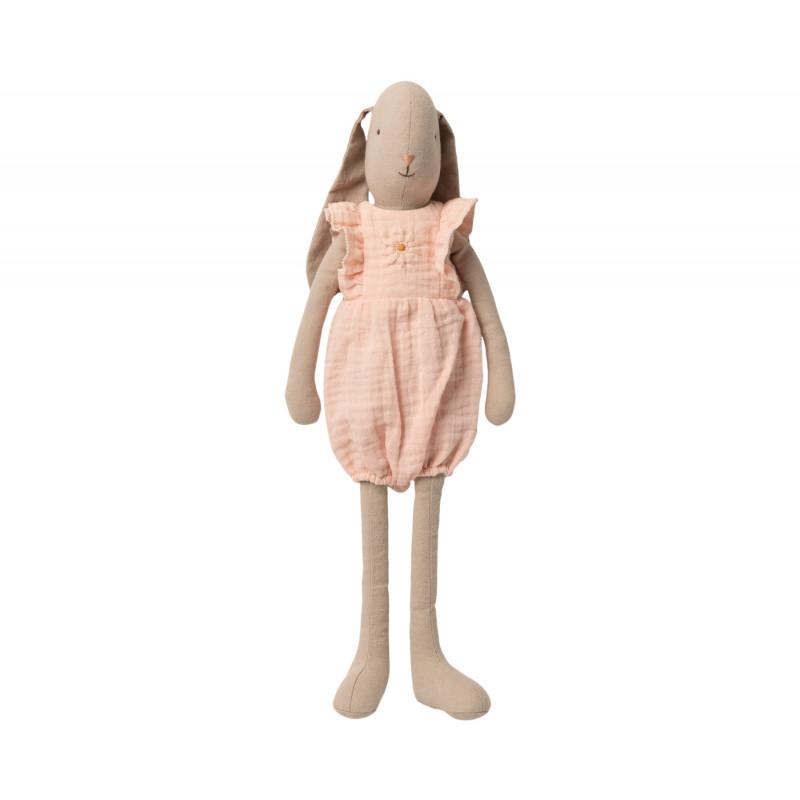 Maileg Hase Bunny im Jumpsuit mit Stickerei Size 3 Höhe 42 cm Maileg nr 16-0300-00