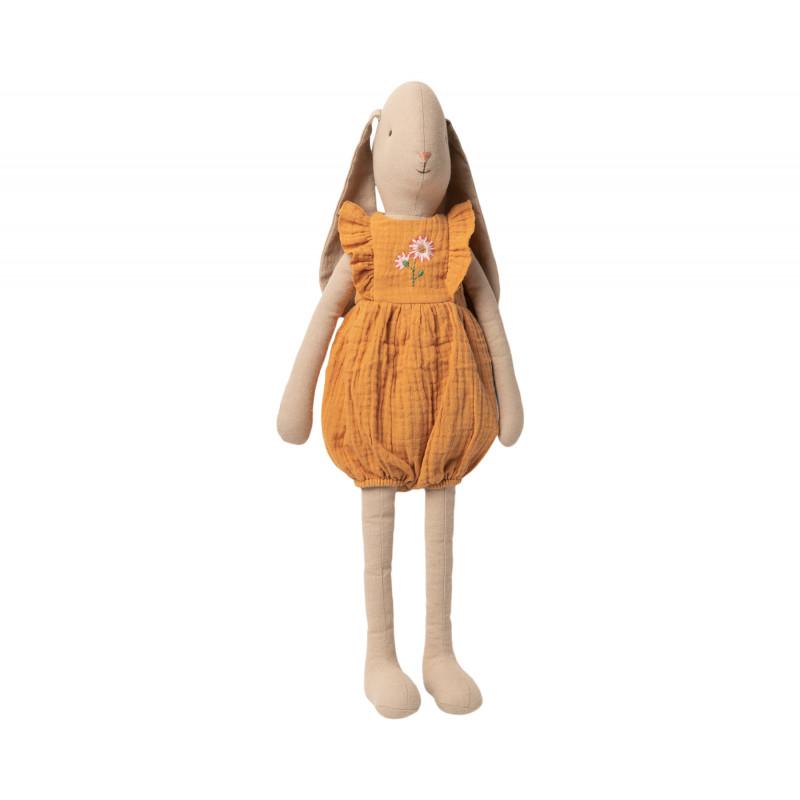 Maileg Hase Bunny im Jumpsuit mit Stickerei Size 4 Höhe 55 cm Maileg Nr 16-0400-00