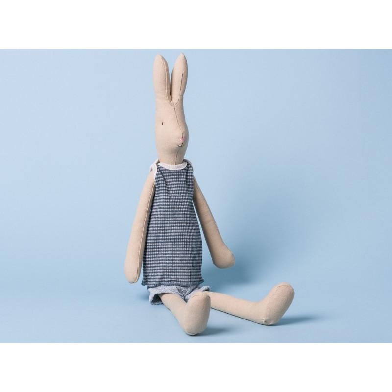 Maileg Hase Medium Rabbit Boy Kuschelhase im Sommer Outfit 51 cm groß
