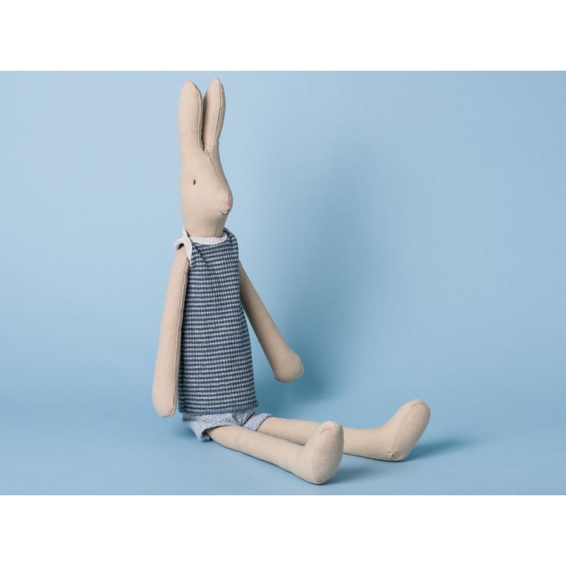 Maileg Hase Medium Rabbit Boy Hasenjunge mit Sommeroutfit blau
