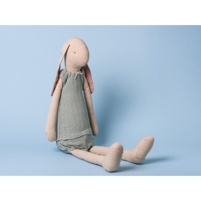 Maileg Hase Mega Bunny Light Girl Hasen Mädchen mit Schlappohren 66 cm groß