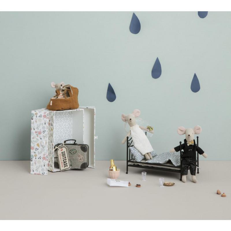 Maileg Hochzeit Maus in Box als Hochzeitsgeschenk 15 cm groß Mäusehochzeit