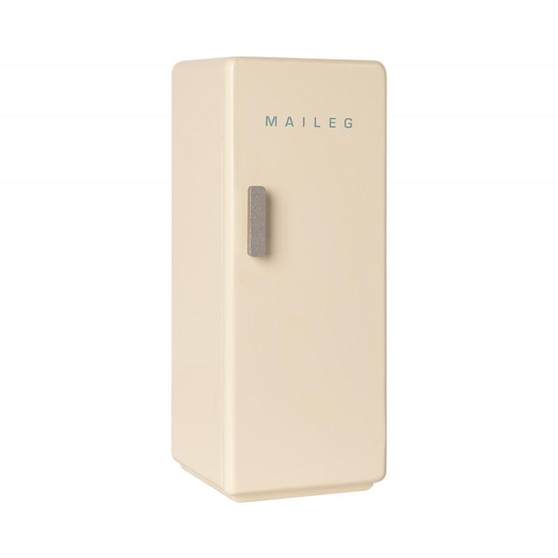 Maileg Kühlschrank Weiss Miniature COOLER aus Holz Maileg Nr 11-0009-00