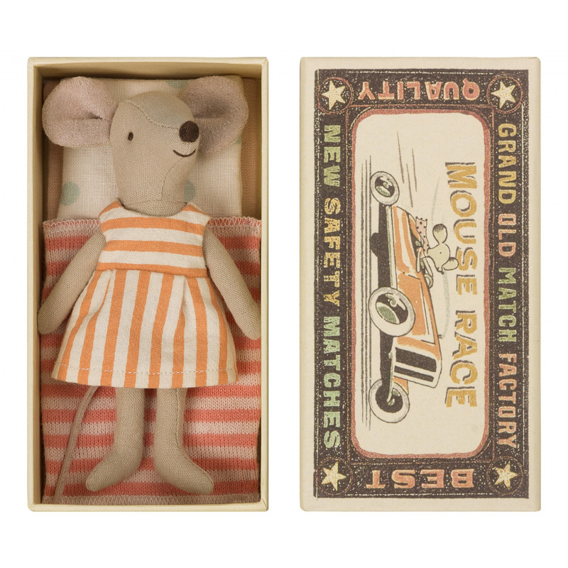 Maileg Maus große Schwester in Box 12 cm groß