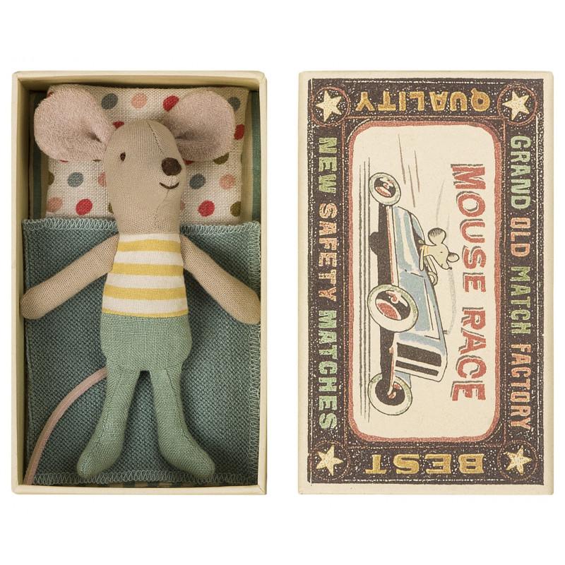 Maileg Maus in der Box kleiner Bruder 10 cm groß
