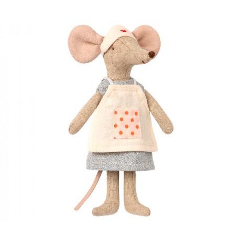 Maileg Maus Krankenschwester Nurse Mouse