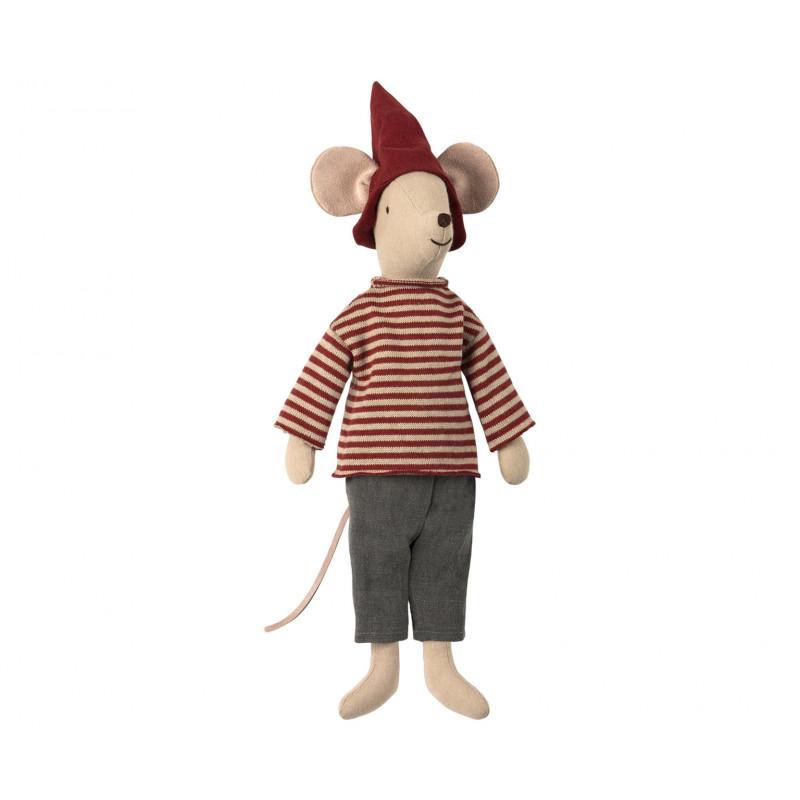 Maileg Maus Weihnachten Medium Boy Maileg Stofftier 37 cm groß