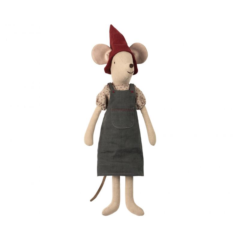 Maileg Maus Weihnachten Medium Girl Maileg Stofftier 37 cm groß