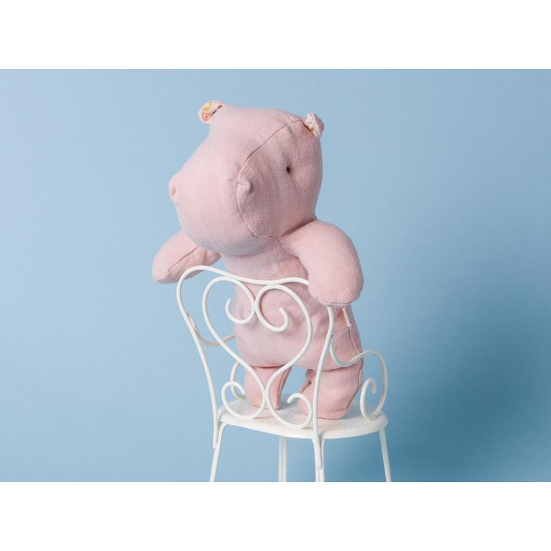 Maileg Nilpferd Little Hippo rosa Kuscheltier Safari Friends witzig Freund