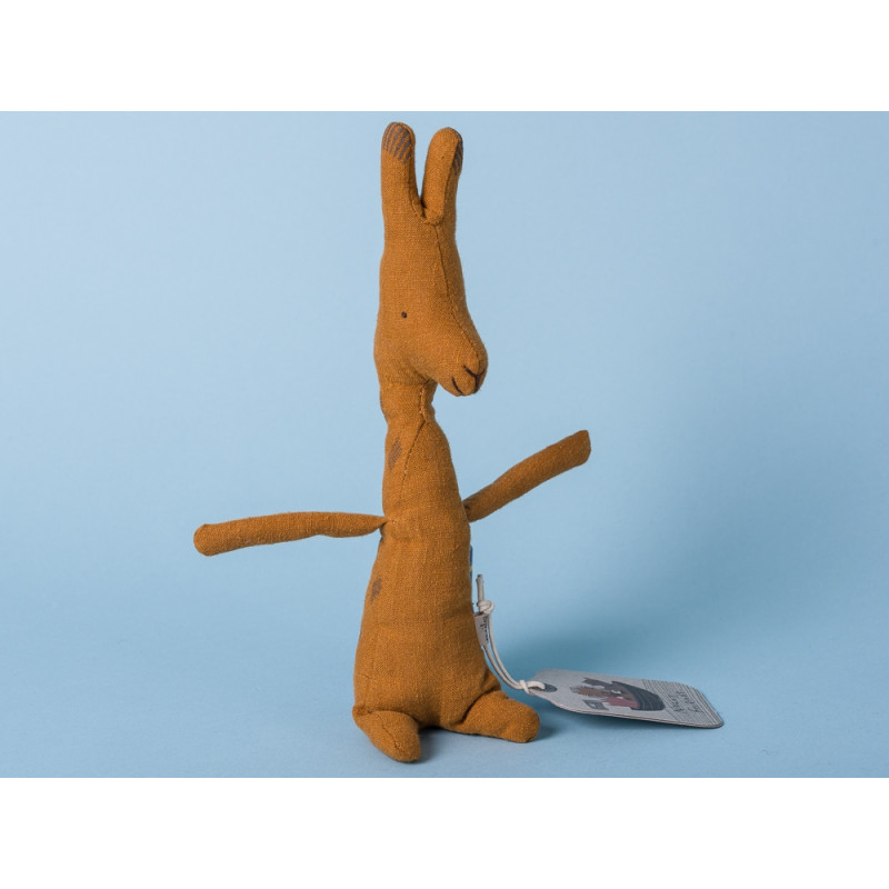 Maileg Noah's Friends Giraffe braun Mini Kuscheltier Noahs Freunde 14 cm Stofftier