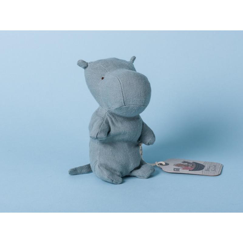 Maileg Noah's Friends Hippo Mini Kuscheltier Noahs Freunde 12 cm Stofftier