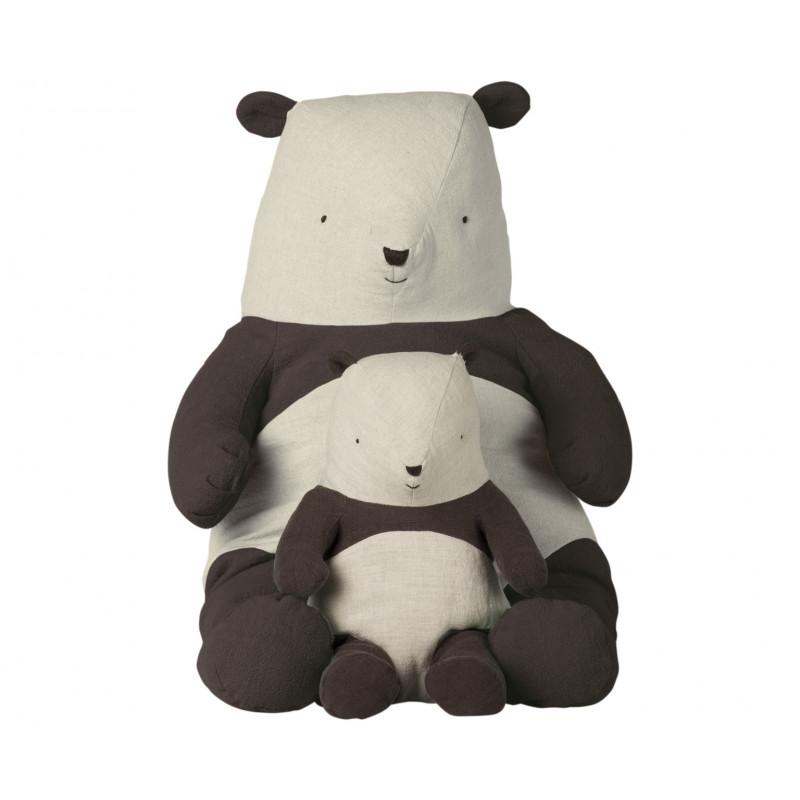 Maileg Panda Bär Medium und XL Size 31 54 cm groß