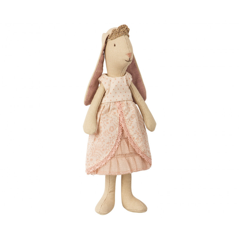 Maileg Prinzessin Mini Bunny rosa 21 cm groß