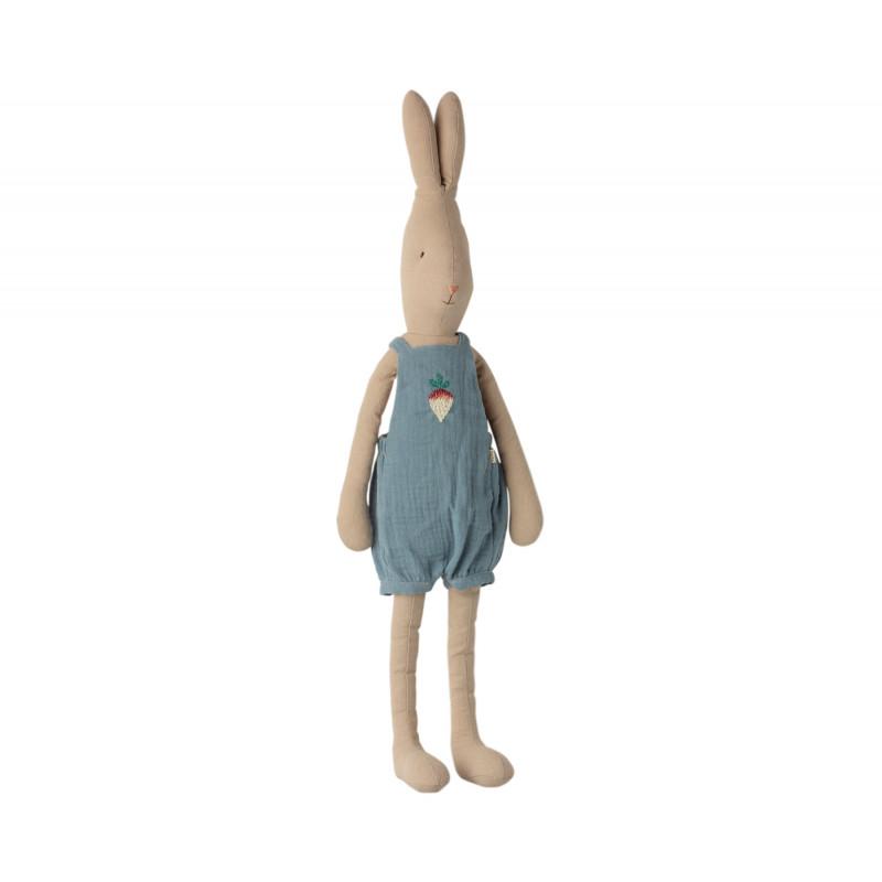 Maileg Rabbit im Overall mit Stickerei Size 4 Höhe 63 cm Maileg Hase Nr 16-0420-00