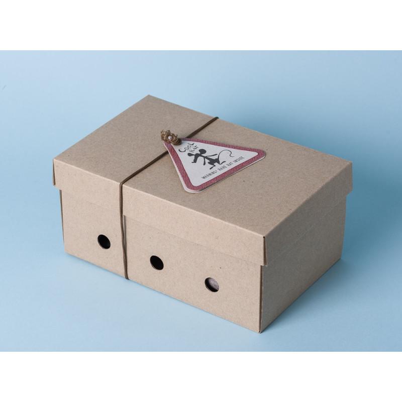 Maileg Ratte Cool Rat grau Geschenkbox Schachtel Aufbewahrung