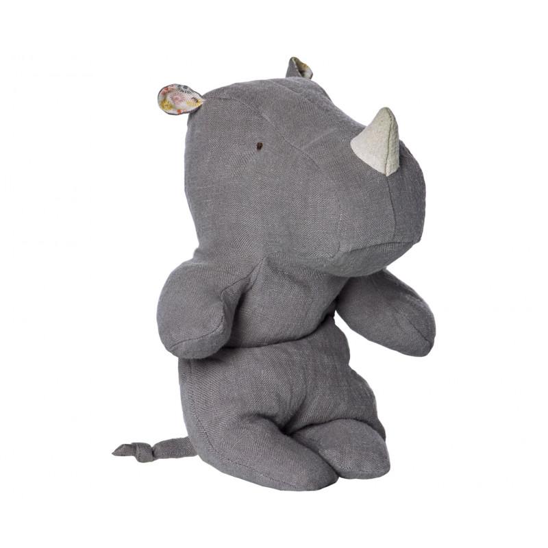 Maileg Rhino Safari Friends grau klein 22 cm
