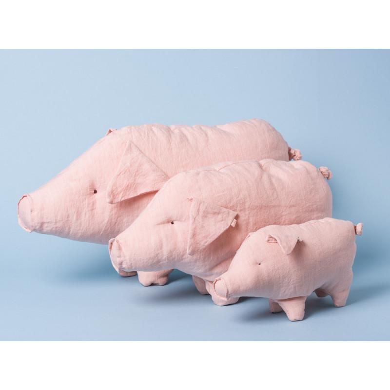 Maileg Schwein rosa klein medium groß Kuscheltier Glücksschwein