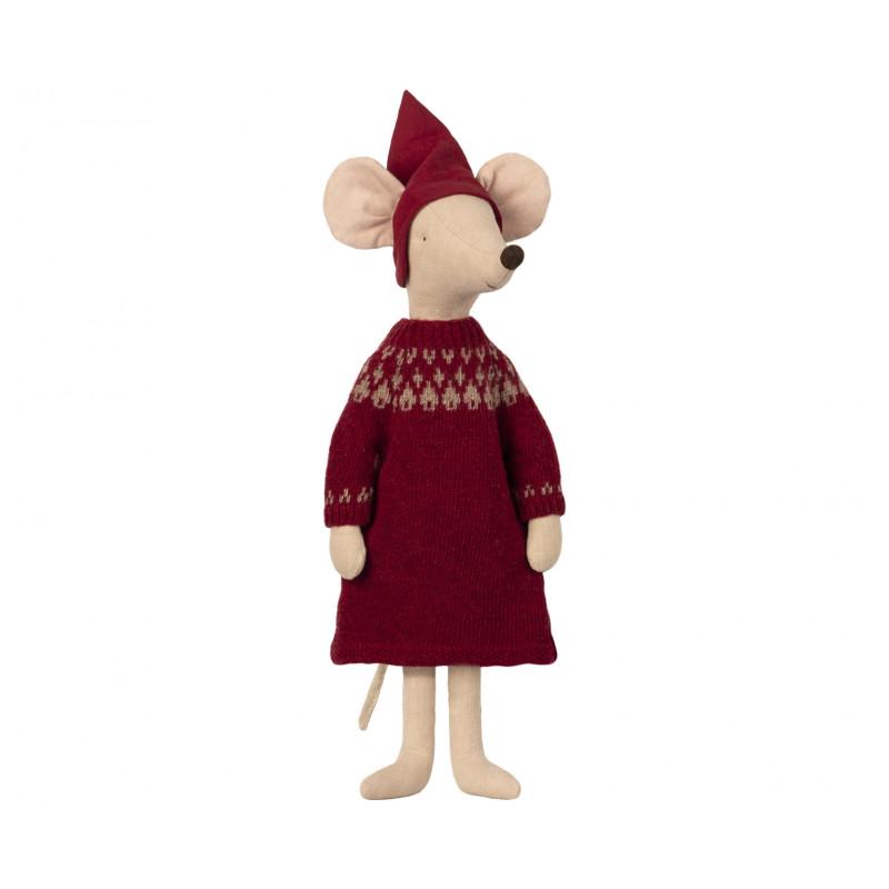 Maileg Weihnachten Maus Maxi Girl Maileg Stofftier 56 cm groß