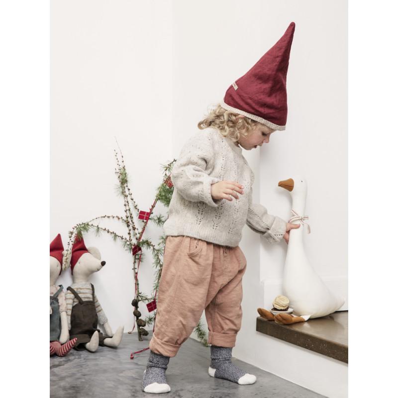 Maileg Weihnachtsmaus Maxi Girl und Maxi Boy Gans weiß Deko Maileg Weihnachten