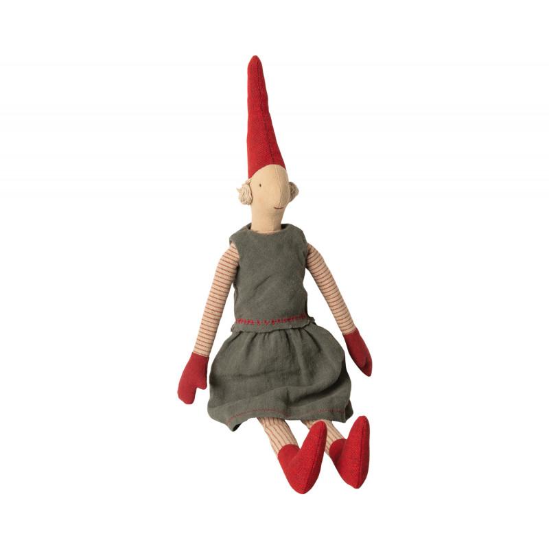 Maileg Wichtel Medium Pixy Marie Weihnachten Kuscheltier Mädchen 50 cm