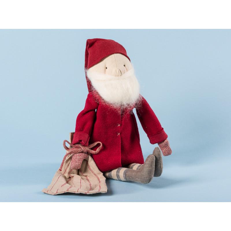 Maileg Winter Friends Pixy Santa  Sack Weihnachten Deko Wichtel Weihnachtsmann