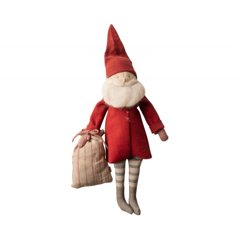 Maileg Winter Friends Pixy Santa stehend Weihnachten Deko Wichtel Weihnachtsmann Kuscheltier 40 cm