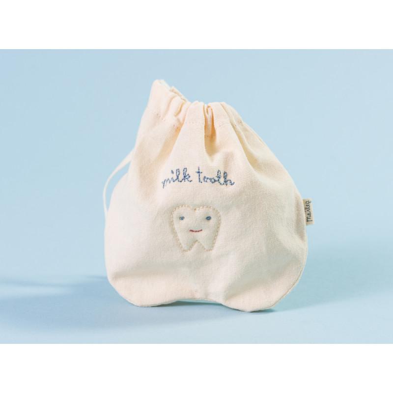 Maileg Zahnfee Tasche aus Baumwolle für Milchzähne