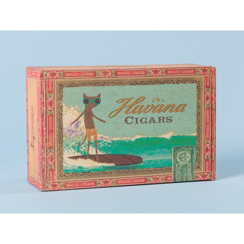 Maileg Zigarrenschachtel aus Karton für Mama und Papa Maus