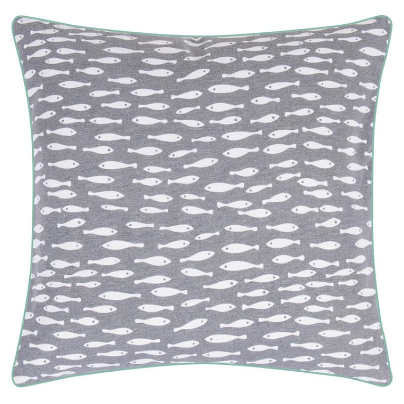 pad concept kissen grau fische wohnhaus welten. Black Bedroom Furniture Sets. Home Design Ideas