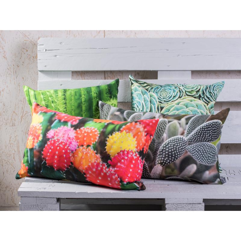 pad concept kaktus kissen desert mit grau gr nen w sten kakteen kissenh lle aus baumwolle. Black Bedroom Furniture Sets. Home Design Ideas