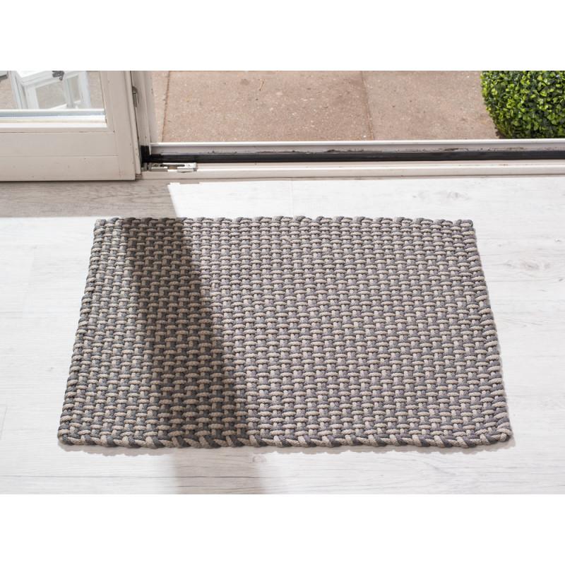 pad concept indoor und outdoor matte pool grau beige 52x72 cm robuste fu matte waschbar f r. Black Bedroom Furniture Sets. Home Design Ideas