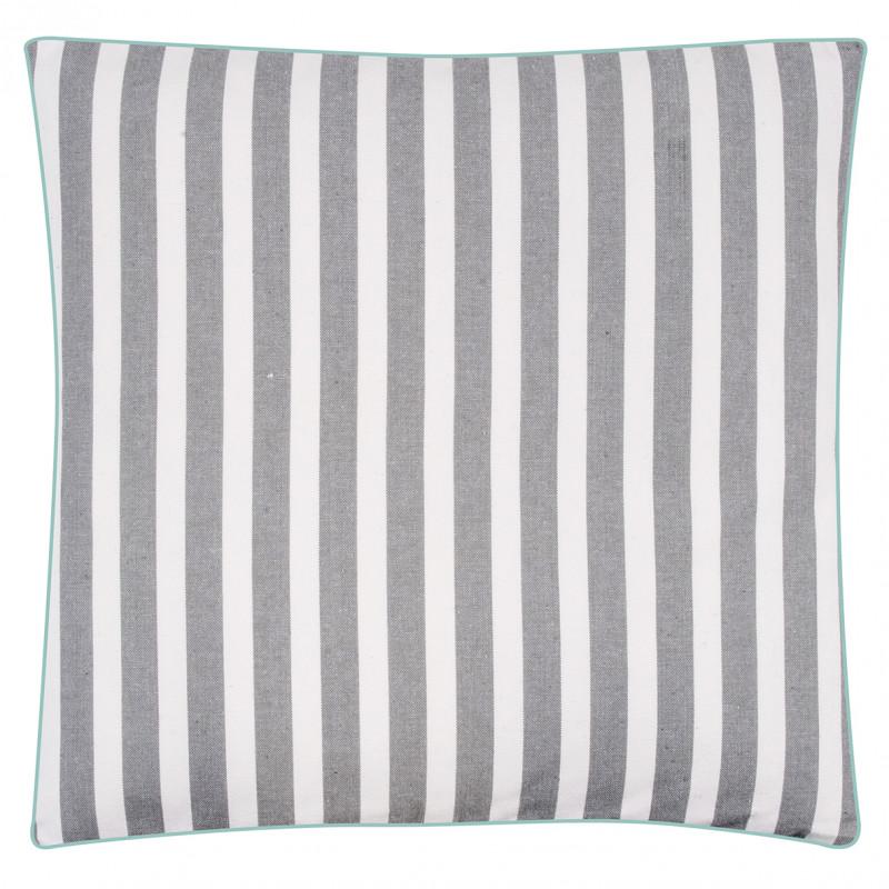pad concept sitzkissen chetto grau wei maritimer sitzkissen bezug in grau wei gestreift. Black Bedroom Furniture Sets. Home Design Ideas