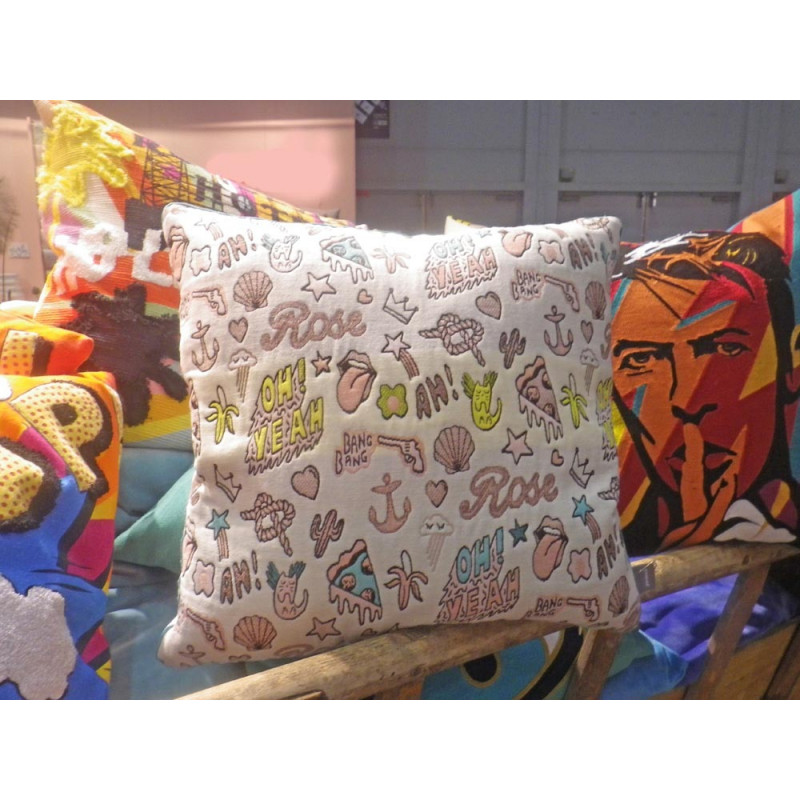 kissenbezug mit pop art muster pad concept hier online einkaufen. Black Bedroom Furniture Sets. Home Design Ideas