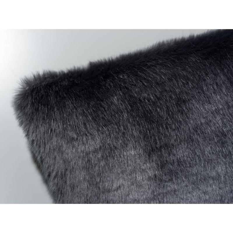 pelzkissenbezug dunkel grau jetzt bei uns bestellen. Black Bedroom Furniture Sets. Home Design Ideas