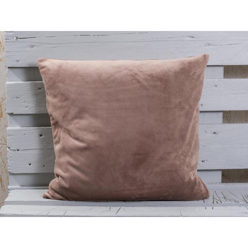 beigefarbene kissenh lle aus samt jetzt bestellen. Black Bedroom Furniture Sets. Home Design Ideas