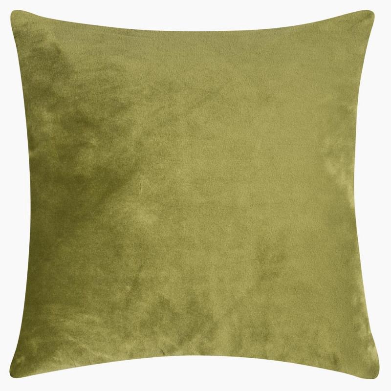 kissenbezug aus samt hellgr n 50x50 von pad concept. Black Bedroom Furniture Sets. Home Design Ideas