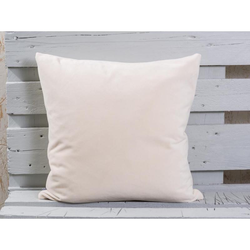 heller kissenbezug aus samt 50x50 bei wohnhaus welten. Black Bedroom Furniture Sets. Home Design Ideas
