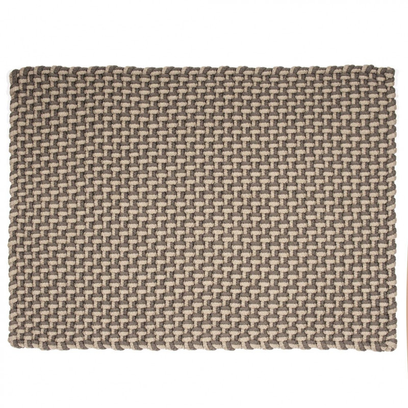 Pad Matte Pool Outdoor Teppich beige grau Badematte Pad Concept Farbe K30 stone sand