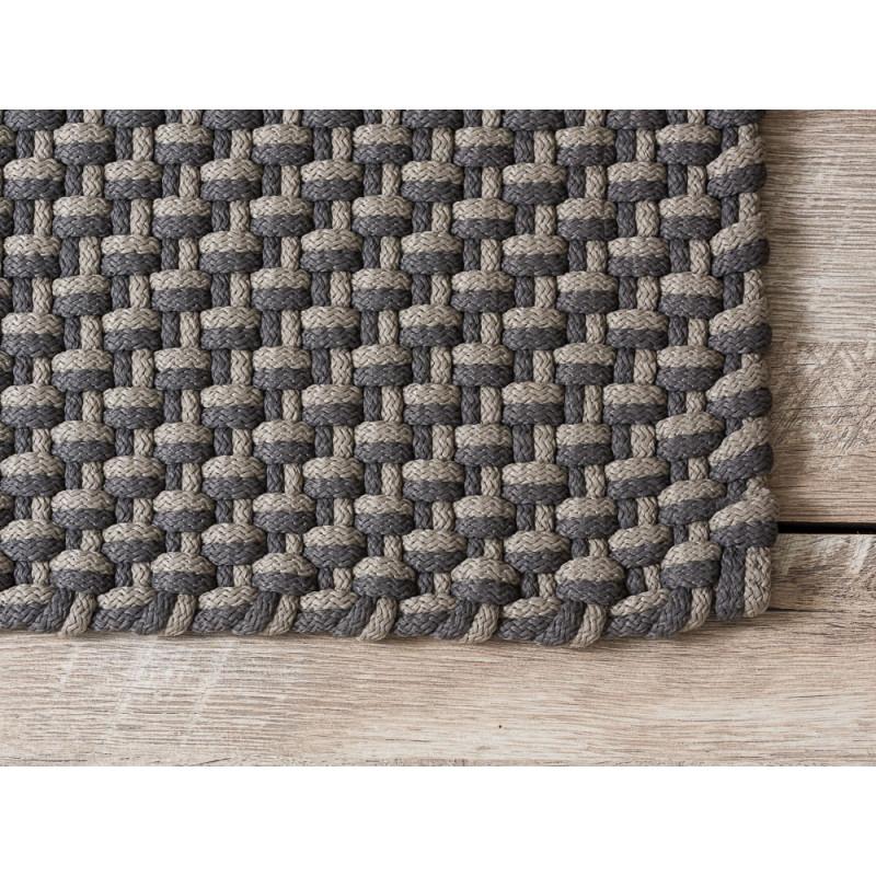 Pad Outdoor Fussmatte Teppich Pool grau beige Matte Pad Concept stone sand Detail